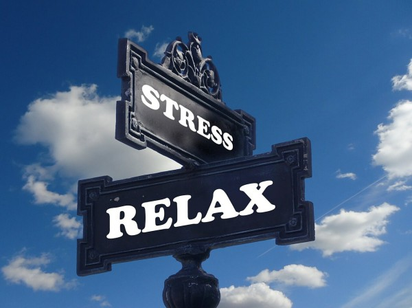 Massage-Umfrage Stress Relax