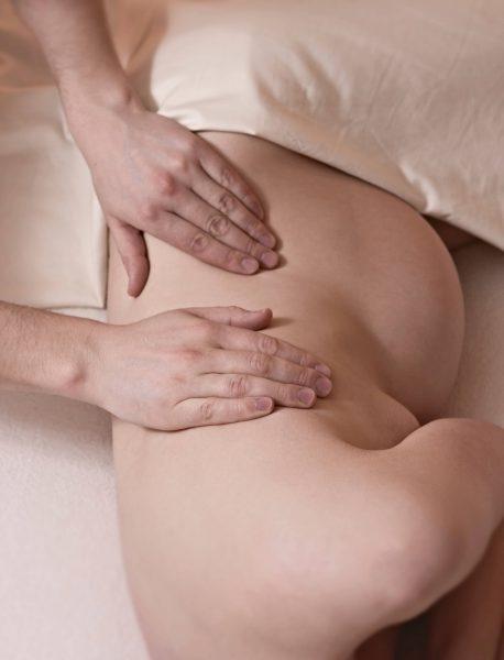 Massage während der Schwangerschaft