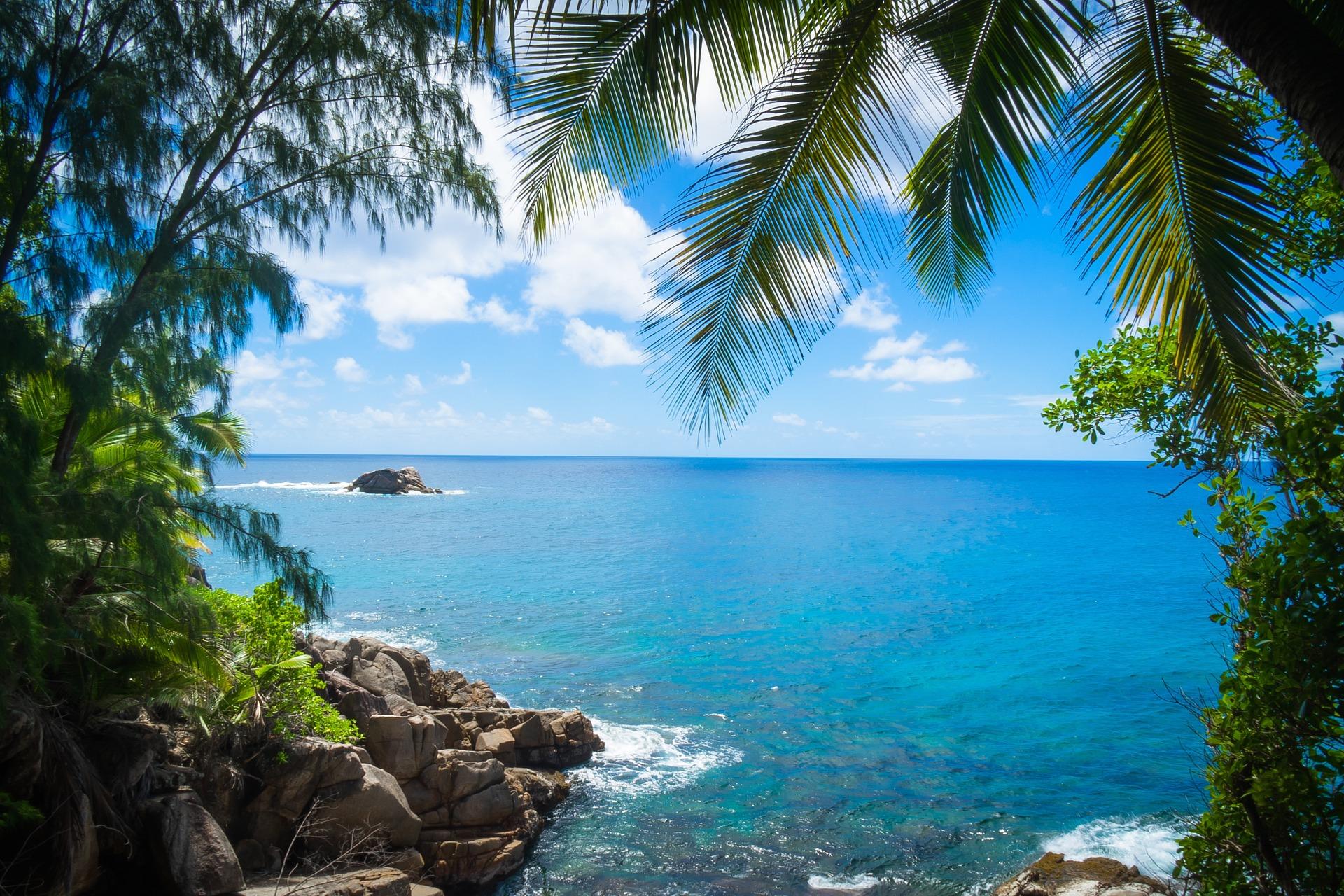 Titelbild paradiesische Orte gegen den Winterblues