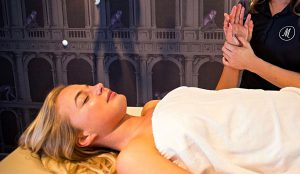 Massage im Sommer